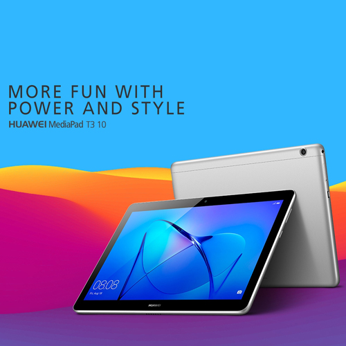 Huawei Mediapad T3 - 10'' - Space Grey | ActForNet